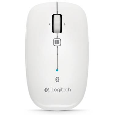 Logitech Bluetooth M557 White Mouse 910-003961