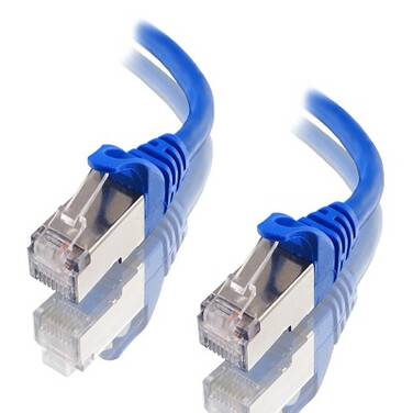 ALOGIC 20m Blue 10G Shielded CAT6A Network Cable
