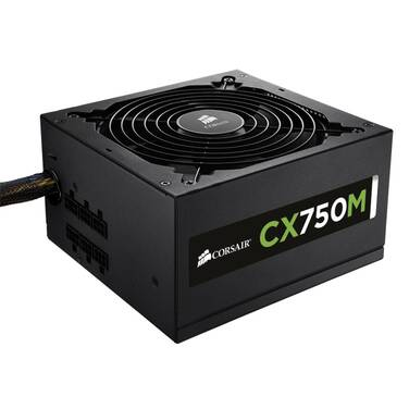 750 Watt Corsair CX750M Modular Power Supply PN CP-9020061-AU