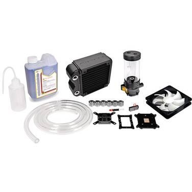 Thermaltake RL120 Liquid CPU Cooler PN CL-W069-CA00BL-A