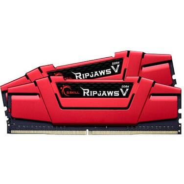 8GB DDR4 G.Skill (2x4GB) F4-2400C15D-8GVR 2400Mhz Ripjaws V RAM