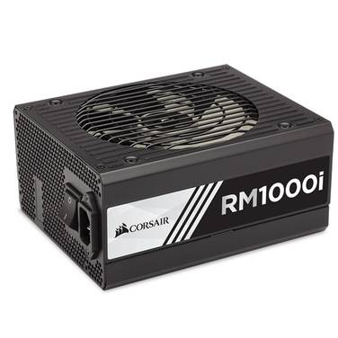 1000 Watt Corsair RM1000I 80 PLUS Gold Modular Power Supply PN CP-9020084-NA
