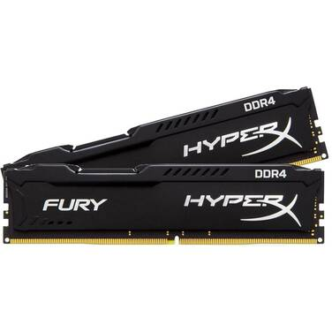 16GB DDR4 Kingston HX424C15FB2K2/16 (2x8G) 2400MHz HyperX FURY Black RAM