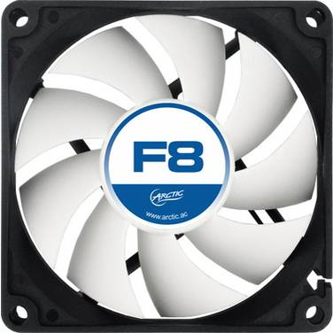 80mm Artic F8 Case Fan