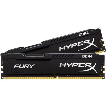 8GB DDR4 Kingston HX424C15FBK2/8 (2x4G) 2400MHz HyperX FURY Black RAM