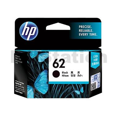 HP 62 Black Ink Cartridge (200 Pages) PN C2P04AA