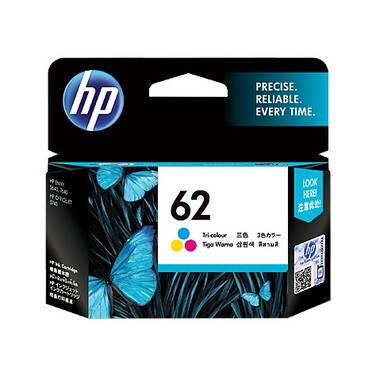 HP 62 Tri-Color C2P06AA Ink Cartridge