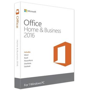 Microsoft Office 2016 Home and Business License Only PN: T5D-02877