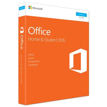 Microsoft Office 2016 Home and Student License Only PN 79G-04751