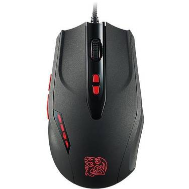 Thermaltake TteSports Black V2 Gaming Mouse PN MO-BKV-WDLOBK-01
