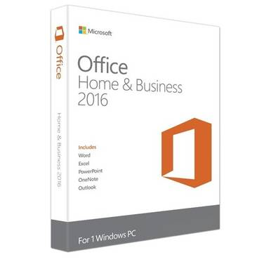 Microsoft Office 2016 Home and Business License Only PN T5D-02357 Special