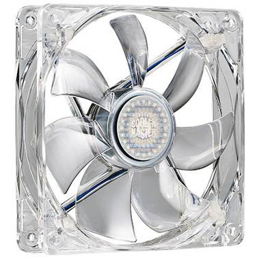CoolerMaster 140mm Blue LED Silent Case Fan PN R4-L4S-10AB-GP