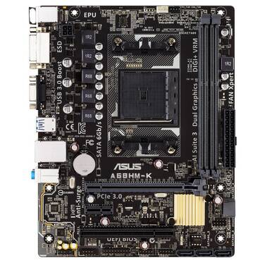 ASUS FM2+ A68HM-K MicroATX Motherboard