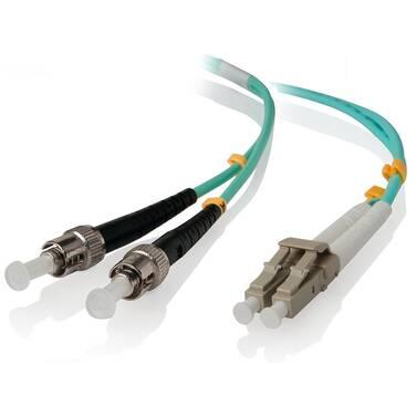 ALOGIC 5m LCST 10G Multi Mode Duplex LSZH Fibre Cable 50/125 OM3