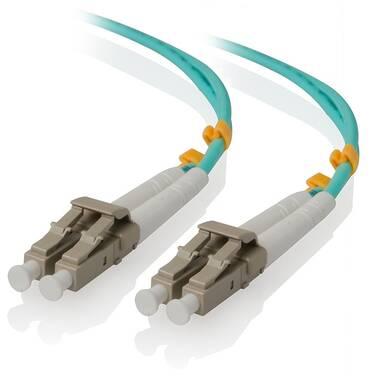 ALOGIC 5m LCLC 40G/100G Multi Mode Duplex LSZH Fibre Cable 50/125 OM4