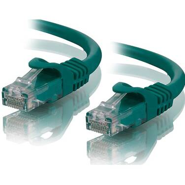 1 Metre ALOGIC Green CAT6 network Cable