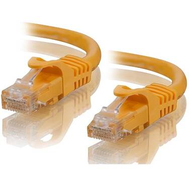 ALOGIC 0.3m Yellow CAT6 network Cable