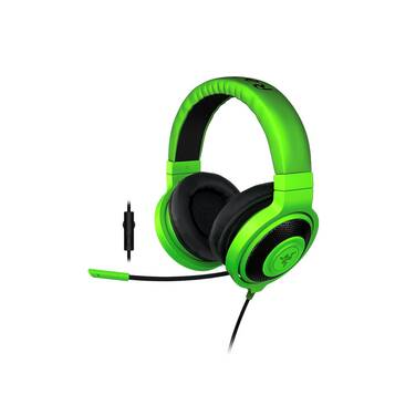 Razer 3.5mm Kraken Pro 2015 GREEN Gaming Headset PN RZ04-01380200-R3M1