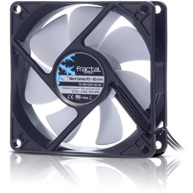 80mm Fractal Design Silent Series R3 Case Fan