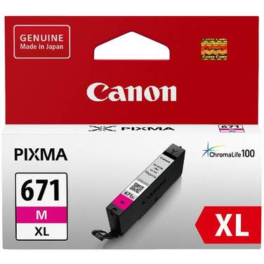 Canon CLI-671XLM Hi-Yield Magenta Inkjet Cartridge