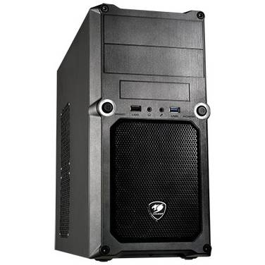 Cougar MicroATX MG100 Case Black (No PSU)