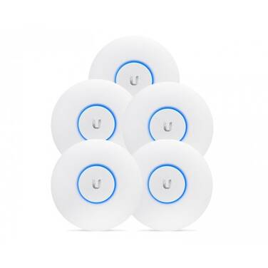 Ubiquiti UniFi Wireless-AC1750 UAP-AC-PRO-5 Access Point with Power over Ethernet 5 Pack