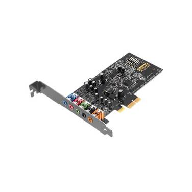 PCIe Creative Sound Blaster Audigy FX Sound Card PN 70SB157000001