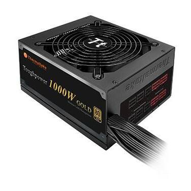 1000 Watt Thermaltake Tough Power GOLD Modular Power Supply PN TPD-1000MPCGAU-1