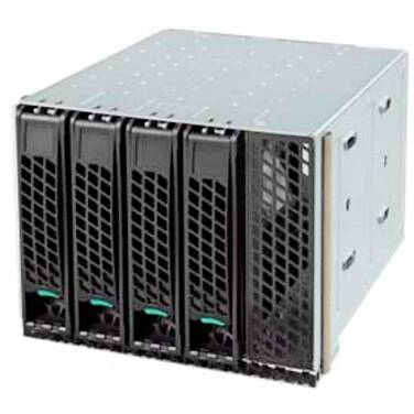 4 Bay Intel Hot Swap Drive Cage for P4000 Series Chassis PN FUP4X35S3HSDK