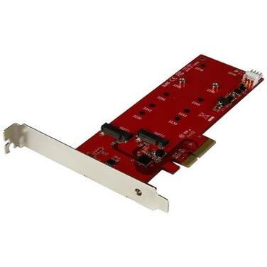 StarTech PCIe 2x M.2 SSD Controller Card PN PEX2M2