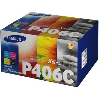 Samsung CLT-P406C (BCMY) Value Pack Toner
