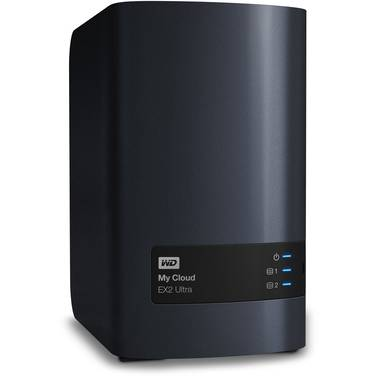 8TB (2x4TB) WD My Cloud EX2 Ultra 2 Bay NAS Unit PN WDBVBZ0080JCH-SESN