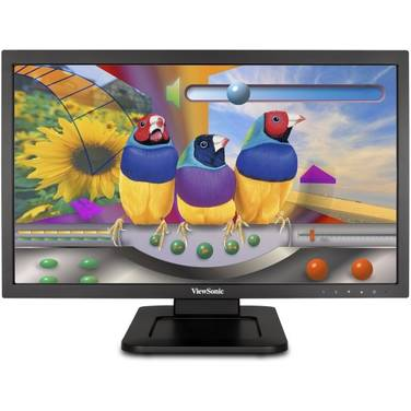 22 Viewsonic TD2220 Touch Screen Monitor with Speakers