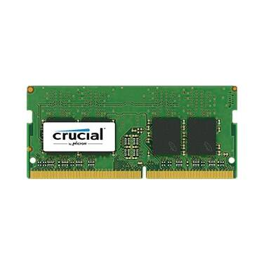 SODIMM 16GB DDR4 (1x16G) Crucial 2400MHz RAM for Notebooks PN CT16G4SFD824A
