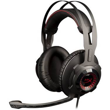 Kingston HyperX Cloud Revolver Pro Gaming Headset PN HX-HSCR-BK