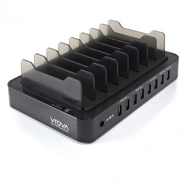 Alogic VROVA VROVA 8 Bay USB Desktop Charging Station 12A/5V Output
