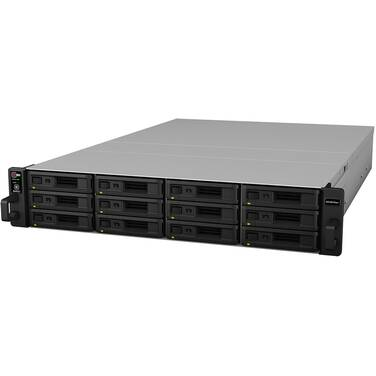 12 Bay Synology RS18016XS+ RackStation Gigabit NAS Unit