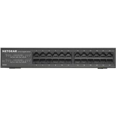 24 Port Netgear GS324-100AUS Gigabit Network Unmanaged Switch