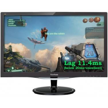 21.5 Viewsonic VX2257-MHD LED Monitor with Speakers