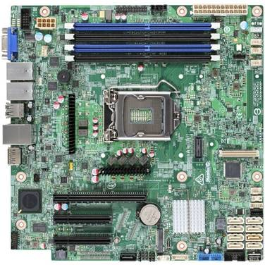 Intel S1151 MicroATX S1200SPL Server Motherboard