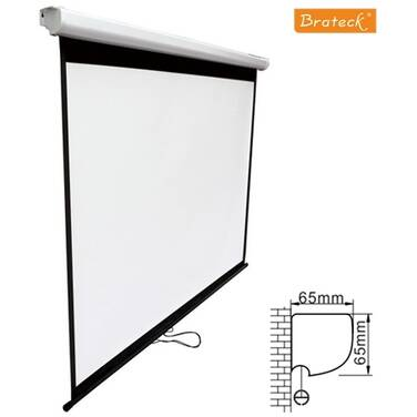 Brateck BT-PSBC100 Manual Projector Screen 2.0x1.5m (4:3 ratio) Self locking