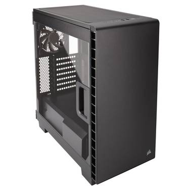 Corsair ATX Carbide 400C Clear Case Black (No PSU) PN CC-9011081-WW