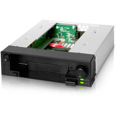 Icy Dock MB971SP-B DuoSwap 2.5/3.5 SATA Hot Swap Drive Enclosure