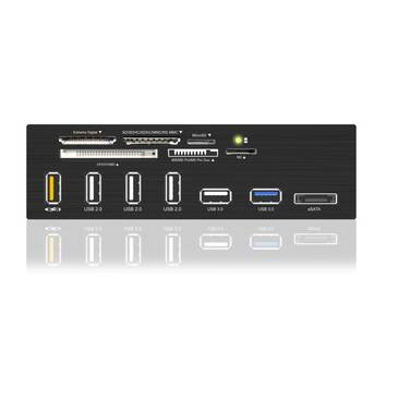 ICY BOX IB-867-B 5.25 USB 3.0 Multi Card Reader