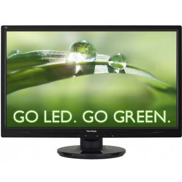 23.6 Viewsonic VA2445M-LED Monitor with Speakers