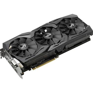 ASUS GTX1080 8GB STRIX AURA Gaming PCIe Video Card PN STRIX-GTX1080-A8G-GAMING