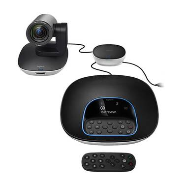 Logitech Conference Camera GROUP Video Conferencing System PN 960-001054