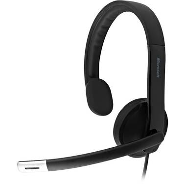 Microsoft Lifechat LX-4000 USB Headset PN 7YF-00003 with Noise Cancelling Microphone, Limit 1 per customer