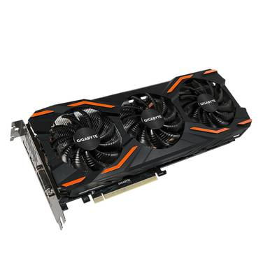 Gigabyte GTX1080 8GB WindForce OC PCIe Video Card GV-N1080WF3OC-8GD