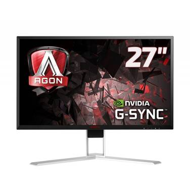 27 AOC AGON AG271QG AHVA QHD 165Hz G-SYNC Gaming Monitor with Speakers